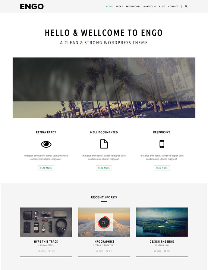 engo wordpress theme
