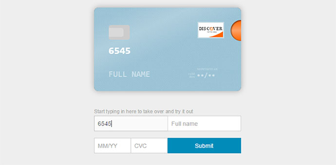 jquery credit card plugin