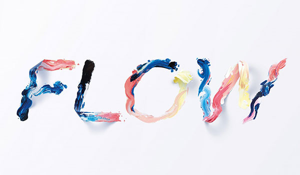 Flow — Typographic Illustration