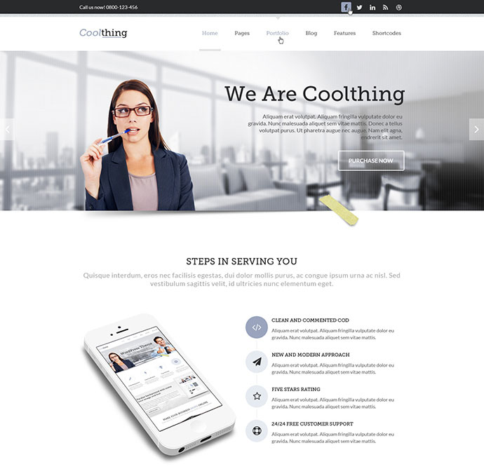 45 best corporate business html website design templates web coolthing responsive html template friedricerecipe Choice Image