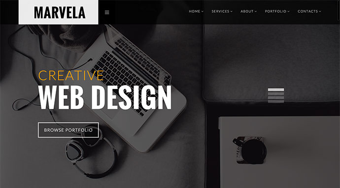 MARVELA - Agency/Portfolio Multi-Purpose HTML5 Template