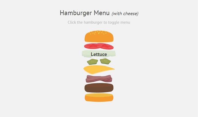 Hamburger Menu (with cheese)