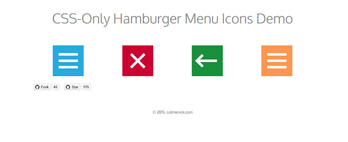 21 Cool CSS Hamburger Menu Animations | Web & Graphic ...