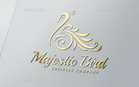 Majestic Bird Logo