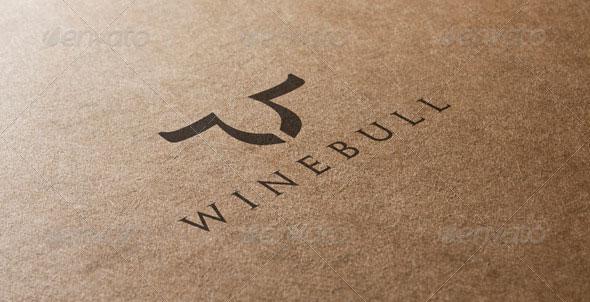 Bull and Wine Logo