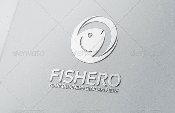 Fishero Logo Template