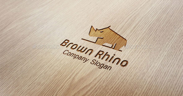 Brown Rhino Logo