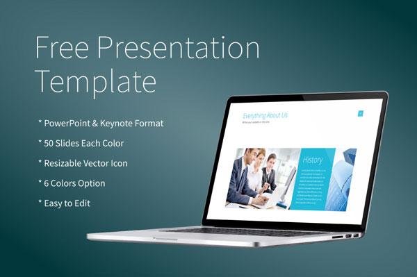 Free Powerpoint/Keynote Presentation Template