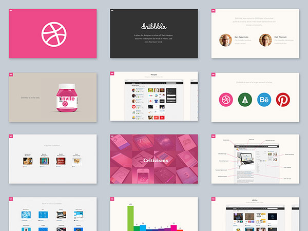 10 free powerpoint keynote templates web graphic design introduction to dribbble toneelgroepblik Images
