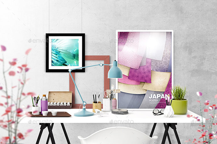 19 psd mock up templates to create hero image bashooka - What degree do you need to be an interior designer ...