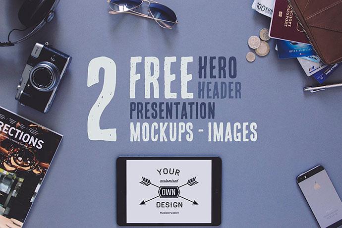 2 Free Hero/Header Presentation Images