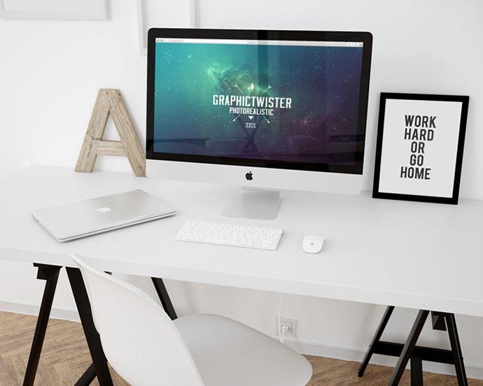 Workpace Mockup Template