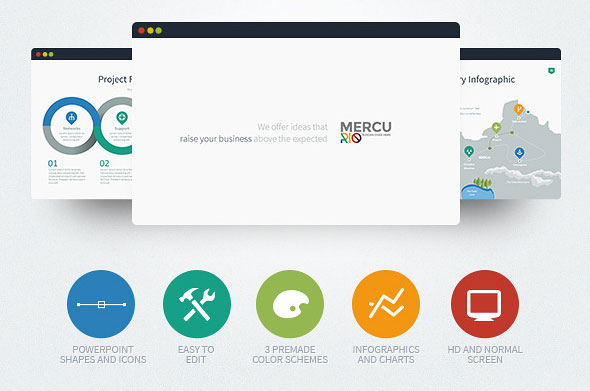 Mercurio PowerPoint Presentation Template