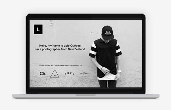 20 minimalist powerpoint templates to impress your audience web loic minimal portfolio powerpoint template download toneelgroepblik Gallery