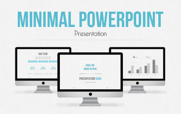 20 minimalist powerpoint templates to impress your audience | web, Presentation templates