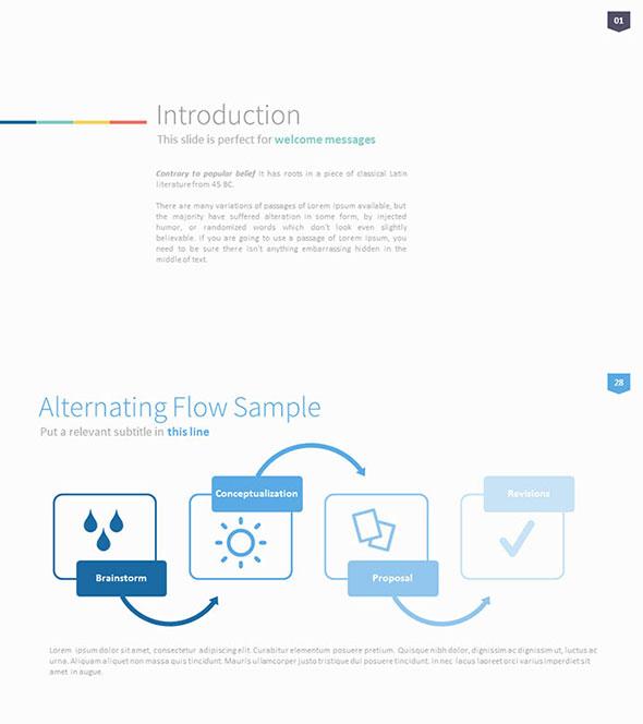Omoa - Ultimate Multipurpose PowerPoint Template