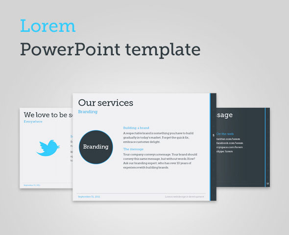 Simple Powerpoint Templates Free