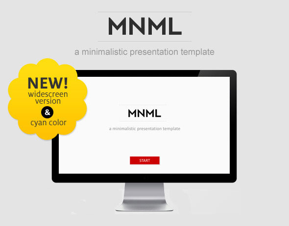 20 minimalist powerpoint templates to impress your audience web mnml powerpoint template download toneelgroepblik Gallery