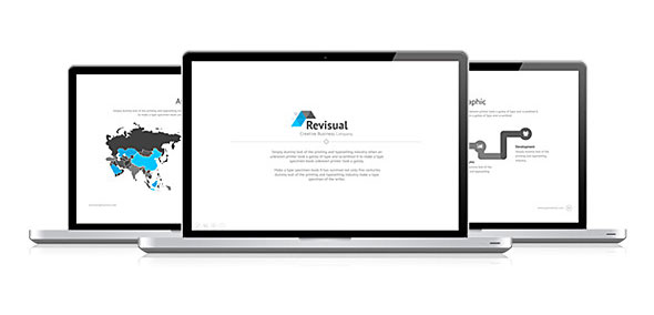 Revisual Powerpoint Template