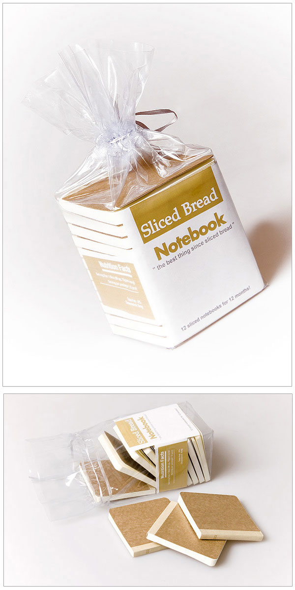 12 slices/notebook set which has been packaged for convenience