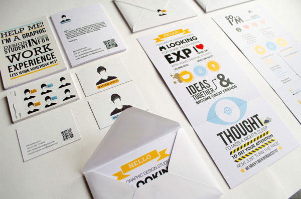 personal branding self promo - Postcard Design Ideas