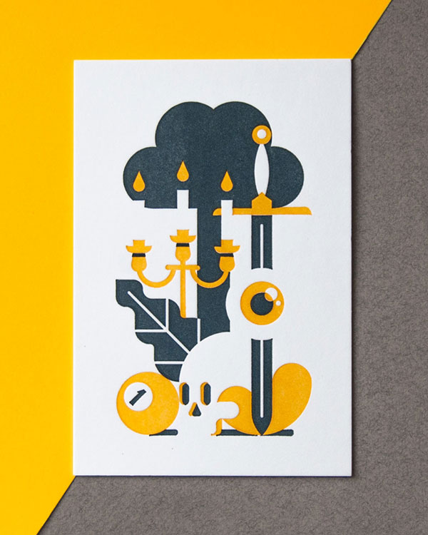 18 brilliantly creative postcard designs web graphic