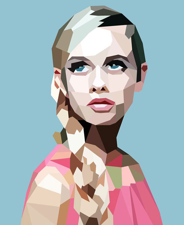 Adobe Illustrator Geometric Art