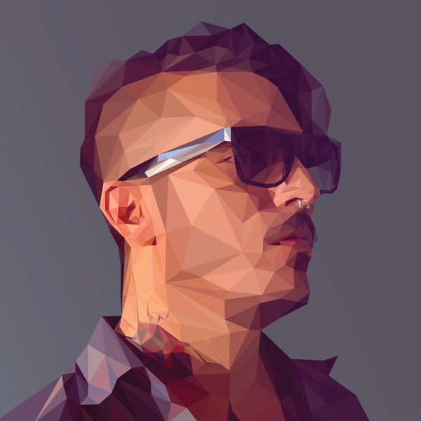Low Poly Illustrations in Photoshop by Breno Bitencourt