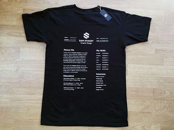 The CV t-shirt