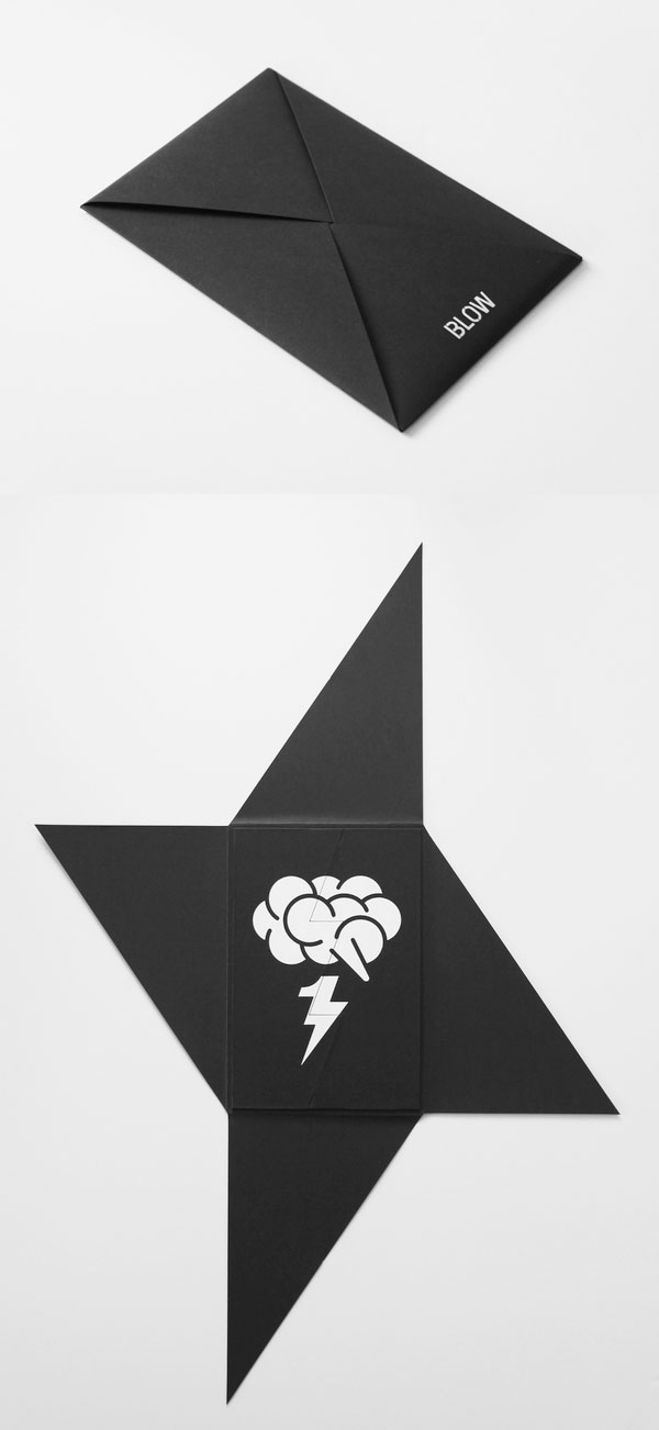 signal postcard design