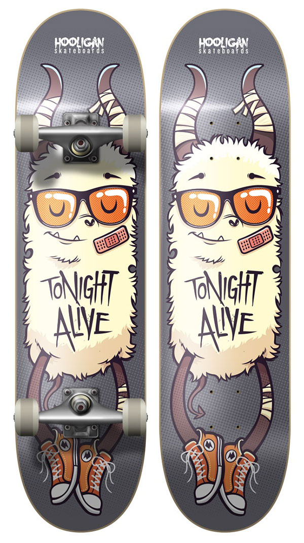 Tonight Alive Board Design