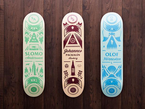 31 most amazing skateboard designs  u2013 bashooka