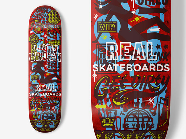 Real Skateboards - Justin Brock