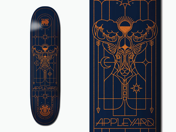 Element Skateboard - Mark Appleyard deck