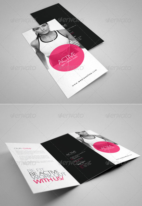 25 Top notch PSD Tri-fold Brochure Templates For Business | Web ...