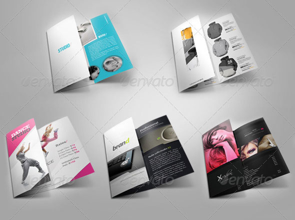 Tri-Fold Brochure Bundle 1