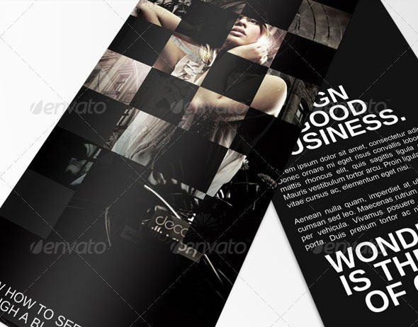 Top Notch PSD Trifold Brochure Templates For Business Web - Tri fold brochure psd template