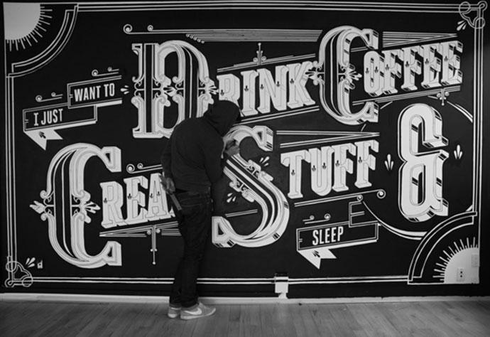 Type Mural + Video
