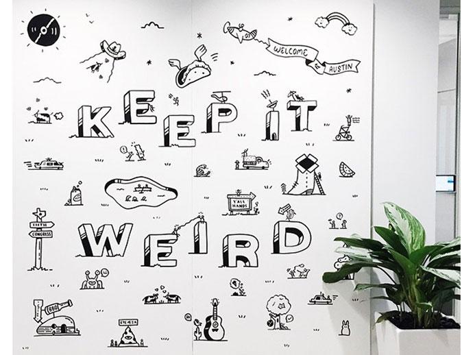 Austin Office Mural