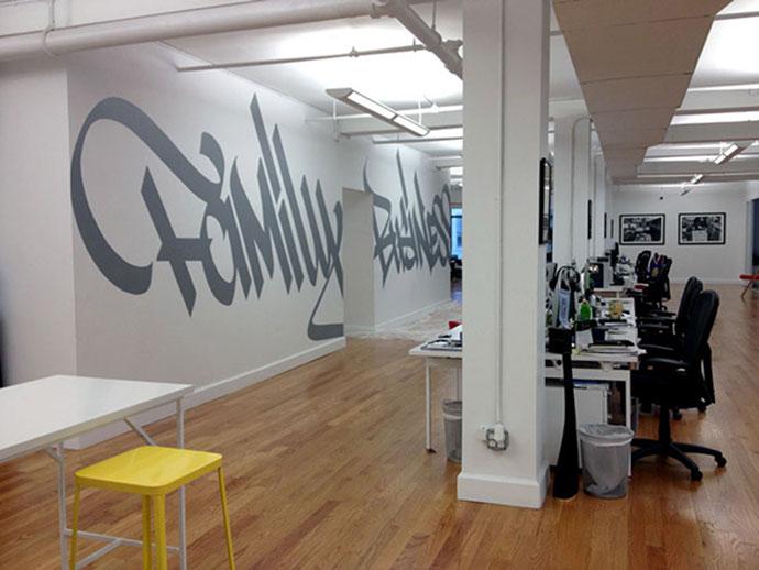 Team Epiphany Office Mural - New York 2014