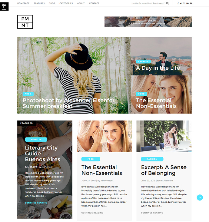 piemont WordPress Themes