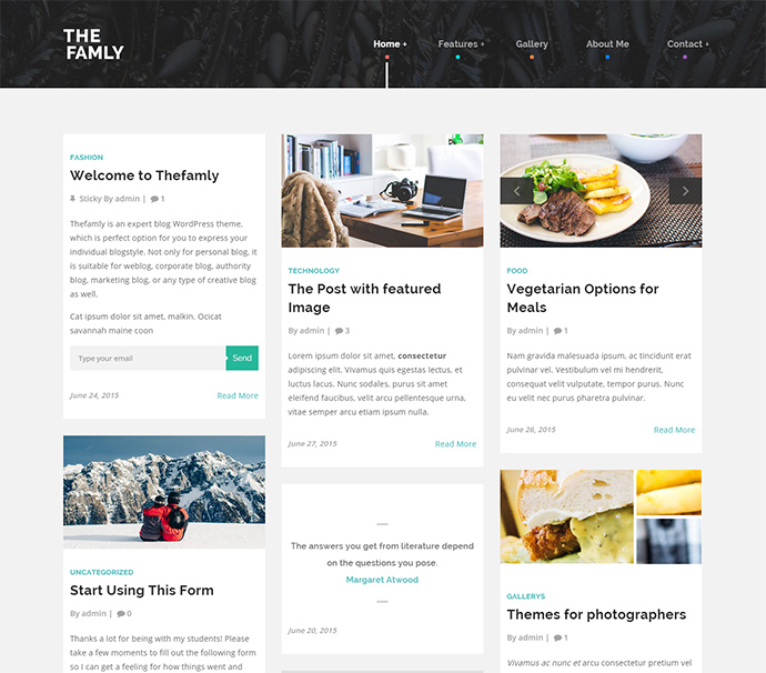 thefamily WordPress Themes