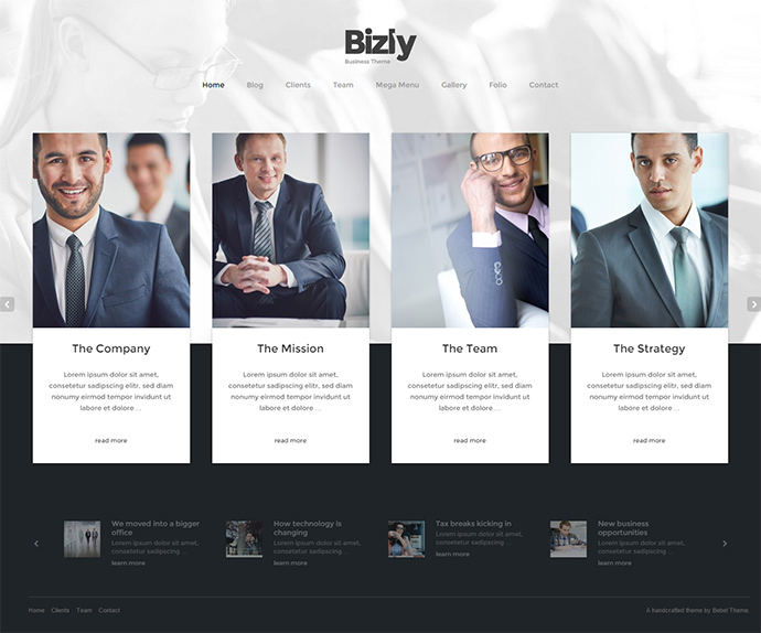 bizly WordPress Themes