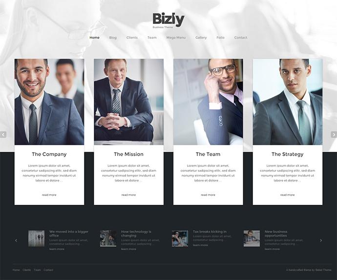 bizly WordPress Themes
