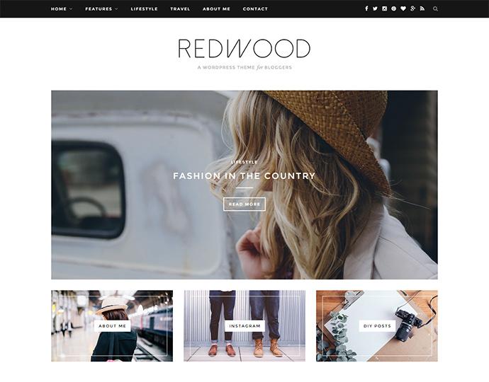 redwood WordPress Themes