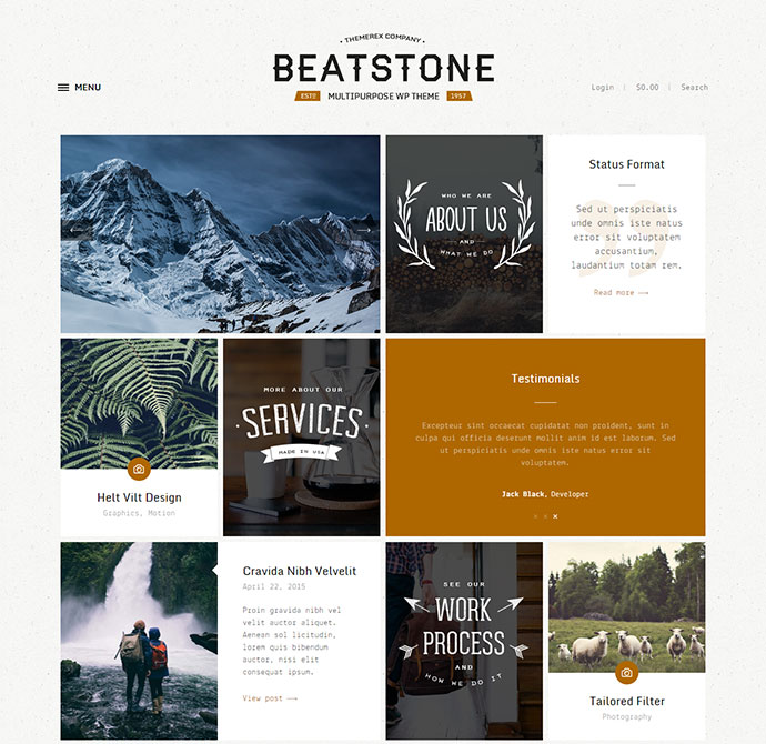 beatstone WordPress Themes