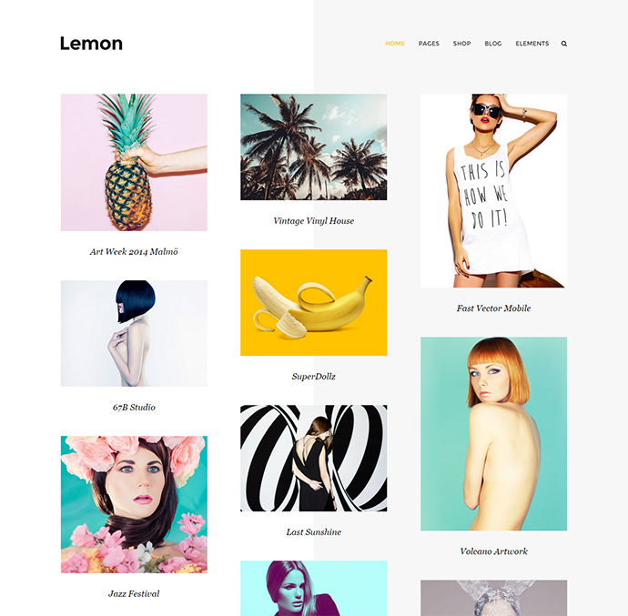 capri WordPress Themes