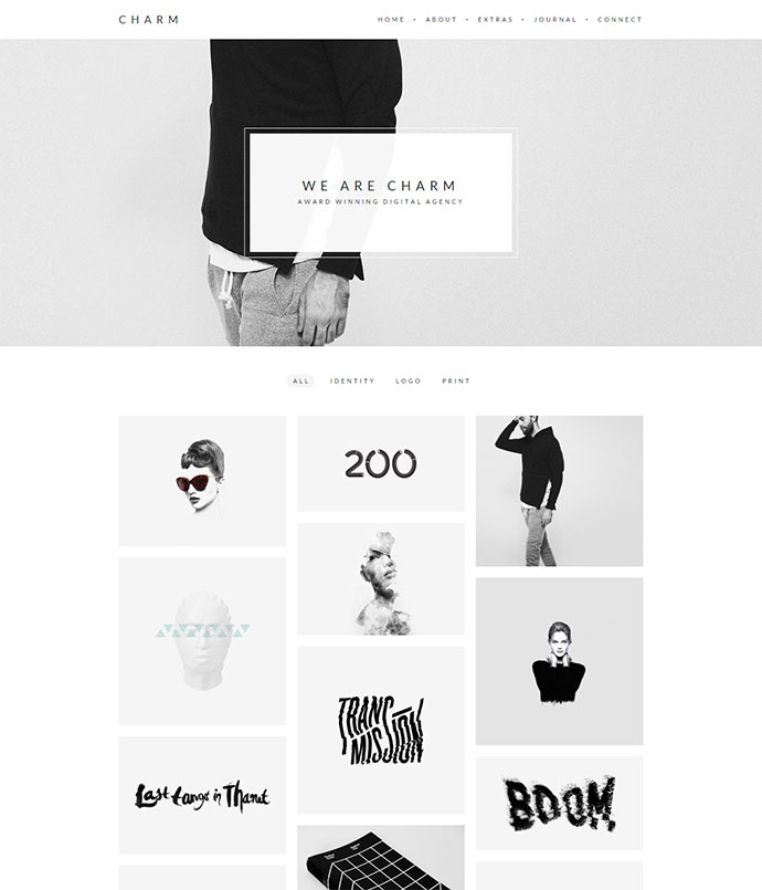 charm WordPress Themes
