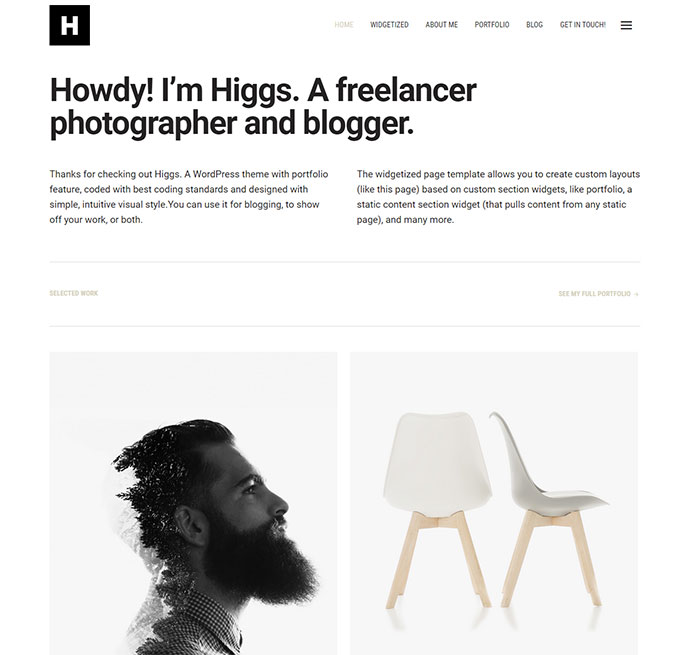 Higgs WordPress Theme WordPress Themes