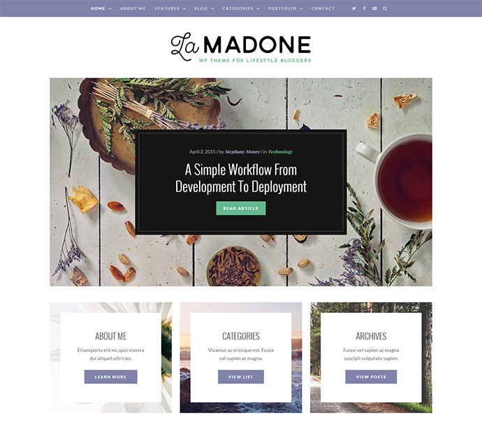 LaMadone WordPress Themes